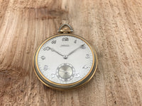 Ahrens Lucerne 18K Gold Pocket Watch with Knife and Chain - Ahrens Lucerne | Back In Time International