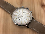 Bertmar Incabloc Stainless Steel Two Register Chronograph Hand-wind