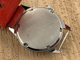 Vintage Helbros BUDMAN Base Metal W/ Stainless Steel Case Back Hand-wind Mechanical NOS!