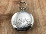 Antique Cornell Watch Co. Coin Silver Hunting Case Pocket Watch - Cornell Watch Co. | Back In Time International