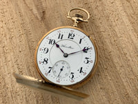 Antique Hamilton Railway Special Caliber 960, 21 Jewel 14K Yellow Gold Railroad Pocket Watch Very Rare!