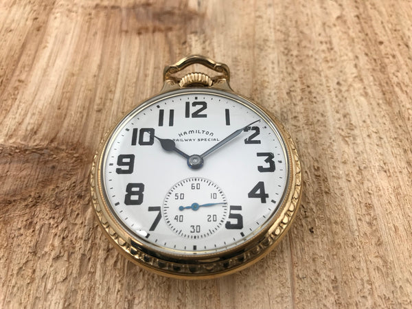Hamilton Railway Special 992B Railroad Pocket Watch - Hamilton | Back In Time International