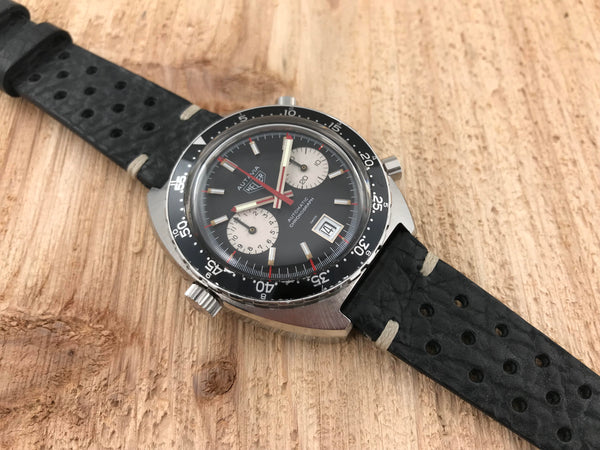 Heuer Autavia Stainless Steel Diver Chronograph Automatic