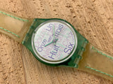 Vintage NOS Swatch Originals Lady's Cool Mint LG116 Plastic Quartz 1996 RARE!