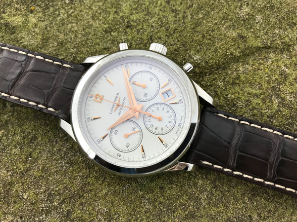 Longines Column Wheel Auto Chronograph  L27504762 - Longines | Back In Time International