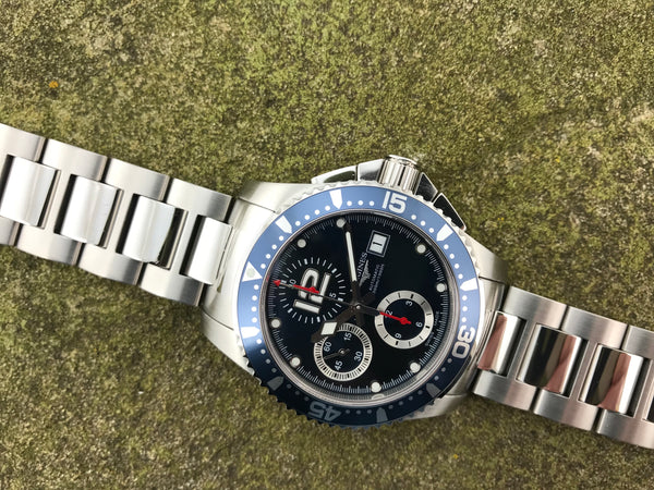 Longines Hydroconquest Chronograph L36444966 - Longines | Back In Time International