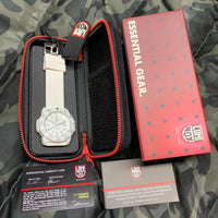 Luminox Navy Seal Evo White Polycarbonate 44MM Quartz 3057.WO