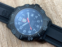 Luminox ANU (Authorized for Navy Use) Black PVD Stainless Steel 45MM Quartz 4221.NV with Two Straps