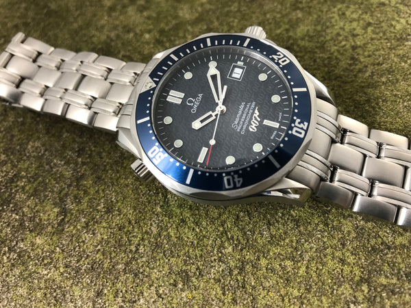 Omega Seamaster Professional 007 James Bond 40th Anniversary Ltd. Ed. Stainless Steel 2537.80.00 - Omega | Back In Time International