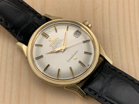 Vintage Omega Constellation 14K Gold Top/ Stainless Steel Back Chronometer Automatic