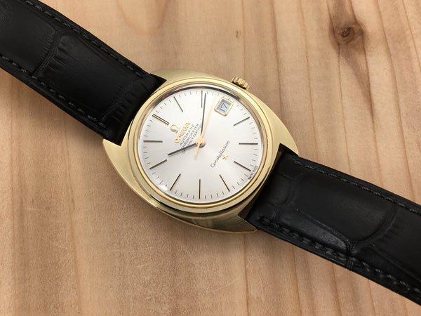 Vintage Omega Constellation 14K Gold Filled Chronometer Automatic