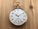 Antique Patek Philippe 18K Rose Gold Triple Signed Pocket Watch