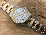 Rolex Oyster Perpetual Date Stainless Steel/18K Gold 15233