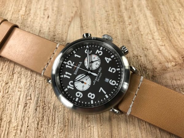 Shinola Runwell Stainless Steel Quartz Chronograph 11000172