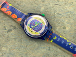 Vintage NOS Swatch Originals Stop Watch SSN101 Time Cup Plastic Quartz 1994 RARE!
