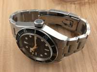 Tudor Black Bay Stainless Steel Automatic Black Bezel Rivet Bracelet 79230N