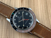Vintage Zodiac Aerospace GMT Stainless Steel Automatic