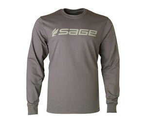 Sage Long Sleeve T Shirt Charcoal