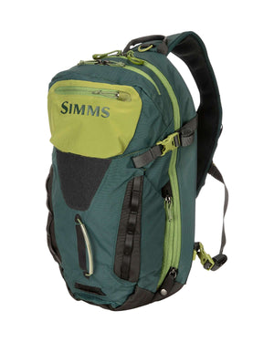Simms Freestone Ambidextrous 18L Sling Pack (in shadow green)