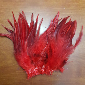 "1/4oz 6-7"" Woolly Bugger Strung Saddle Hackle"
