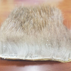 Beaver fur patch - Natural