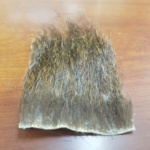 Nutria Fur Patch Natural