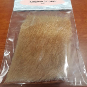 Kangaroo Fur Patch