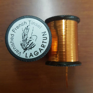Lagartun Varnished French Tinsel Medium Copper