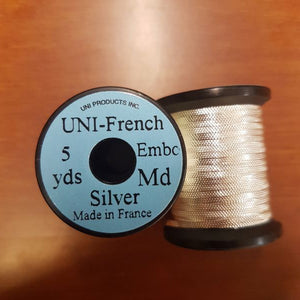 Uni Flat Embossed French Tinsel