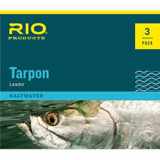 Rio Tarpon Leader Hard Mono Shock Tippet - 6ft - 3 pack