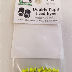 Double Pupil Lead Eyes Chartruese