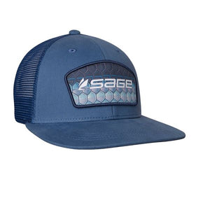 Sage Patch Trucker Hat - Tarpon