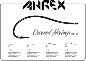 Ahrex NS150 Curved Shrimp