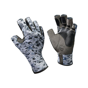 Buff Angler II Gloves Fish Camo