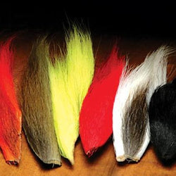 Bucktail Pieces Mixed Colours