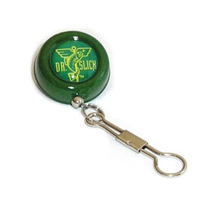 Dr Slick Pin-On-Reel Retractor Green