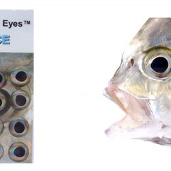 Fish Skull Living Eyes - Ice (Silver)