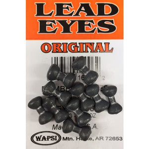 Lead dumbbell eyes - Plain