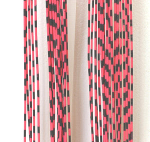Grizzly Barred Rubber Legs - Medium