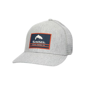 Simms Original Patch Trucker Hat Heather Grey