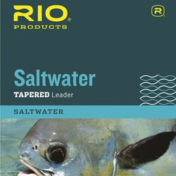 Rio Saltwater Knotless Tapered Leader 10 foot