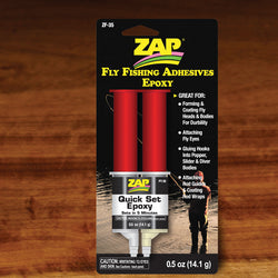 Zap Quick Set Fly Fishing Epoxy