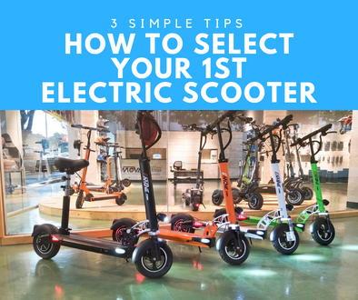 3 Simple tips on how to select your first adult electric scooter in United States and how to compare escooters from Bird, Spin or Xiaomi scooters?