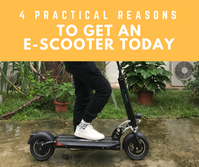 4 Practical Reasons To Get An Electric Scooter TODAY!