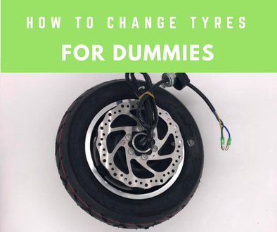 How to change an electric scooter tyre? EMOVE Cruiser, Speedway 4, Futecher E-Scooter Tire Change for Dummies