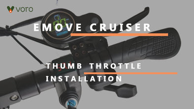 How to Install Thumb Throttle on your EMOVE Cruiser