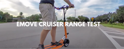 EMOVE Cruiser Electric Scooter Range Test