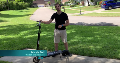 EMOVE Touring Electric Scooter Review by Electrek