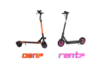 COST BREAKDOWN: Rent Scooters (Shared) vs Ownership