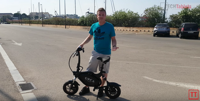 ORCA Mark I Seated Electric Scooter Review